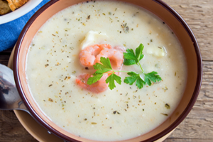 Creamy Shrimp Bisque